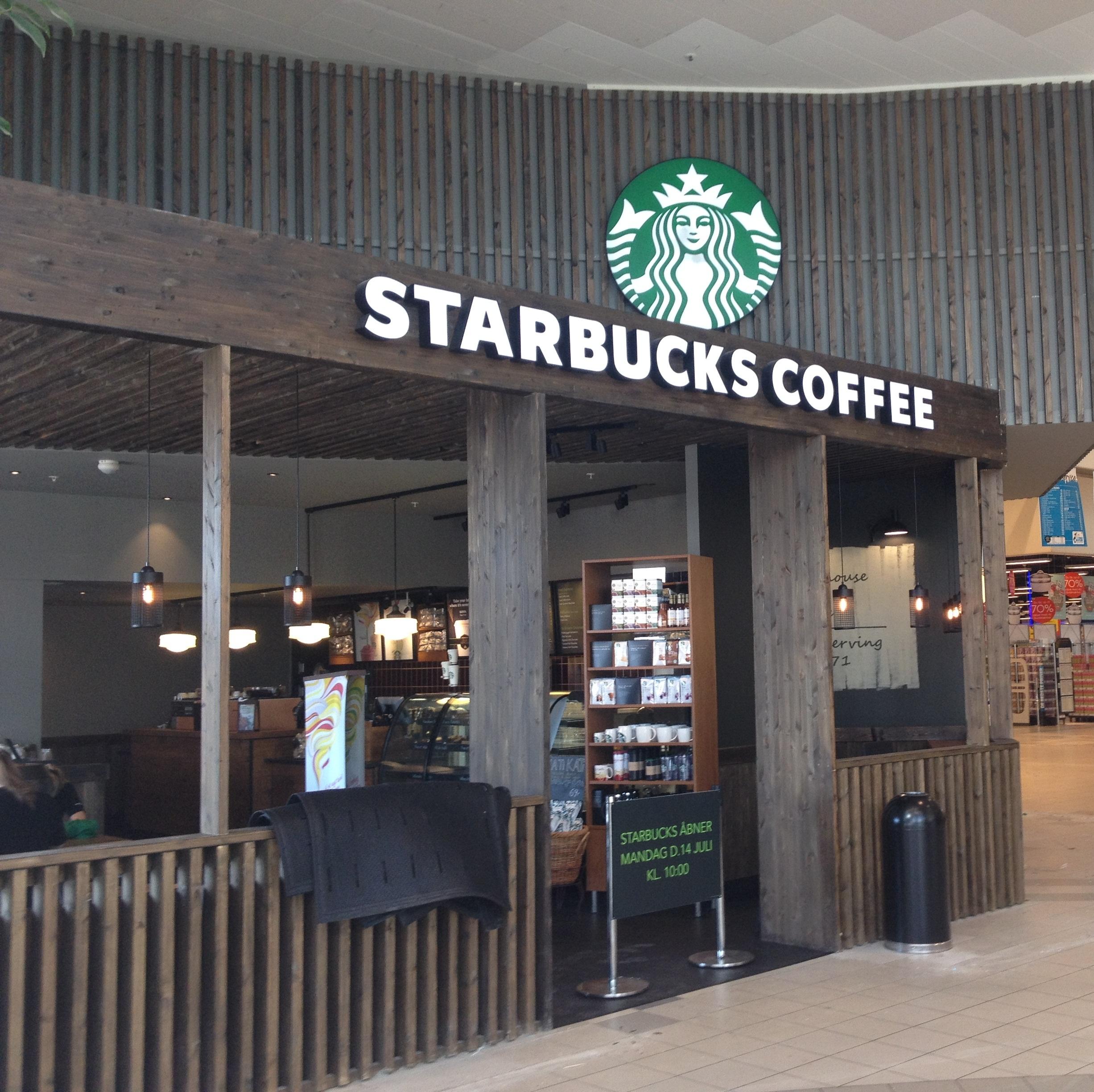 Starbucks Cafe – Aalborg Storcenter